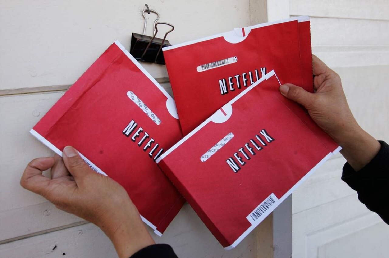 Netflix DVD envelopes